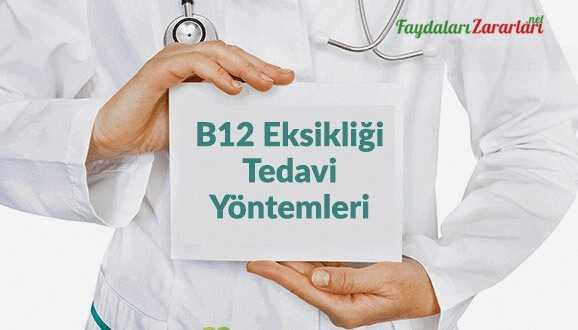 B12 Vitamin eksikliği tedavi yöntemleri