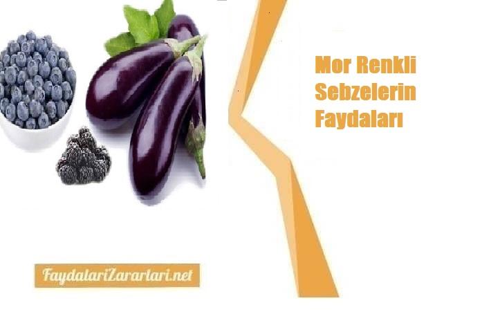 Mor Renkli Sebzelerin Faydaları